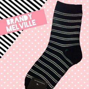 🆕Brandy Melville Crew Socks